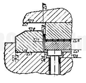 Детали гибочного штампа