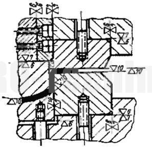 Детали вытяжного штампа двойного действия
