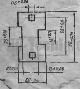 Пример расчета размеров матрицы и пуансона