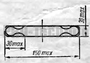 шлифовка части режущего контура пуансона