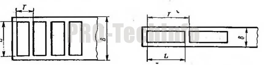 Схема раскроя штамповка
