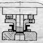 Подвижный цилинрический ступенчатый съемник