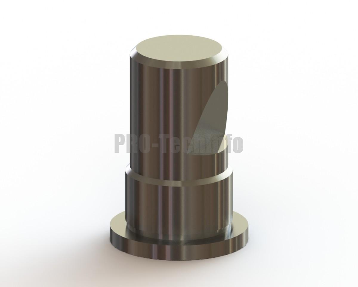 Хвостовик штампа ∅32х65 с буртиком скачать