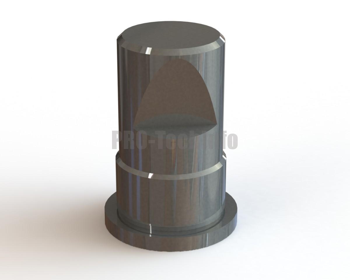 Хвостовик штампа ∅42х80 с буртиком скачать