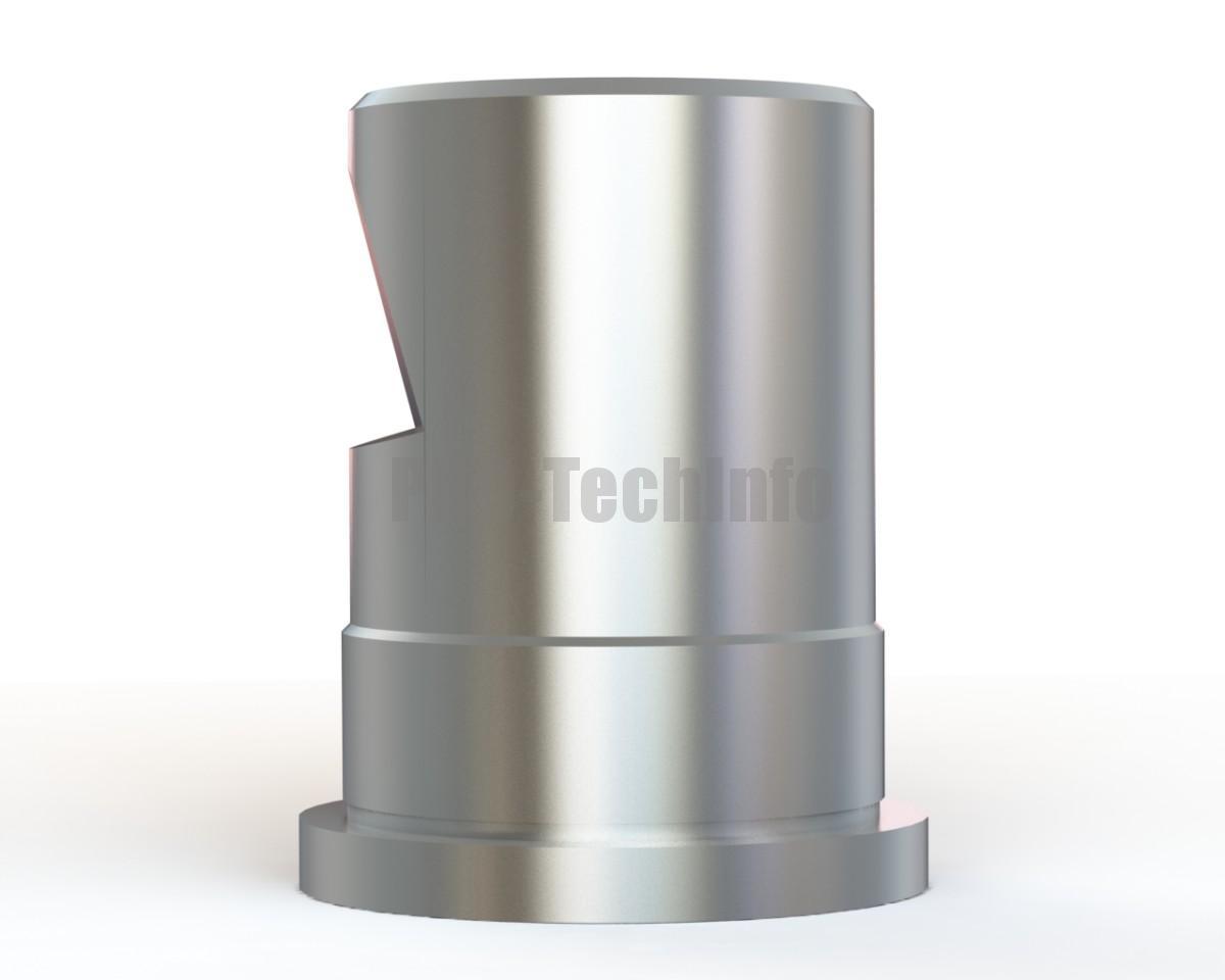 Хвостовик штампа ∅60х90 с буртиком модель