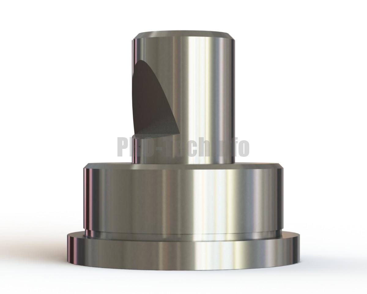Хвостовик штампа ∅32х70 с буртиком модель