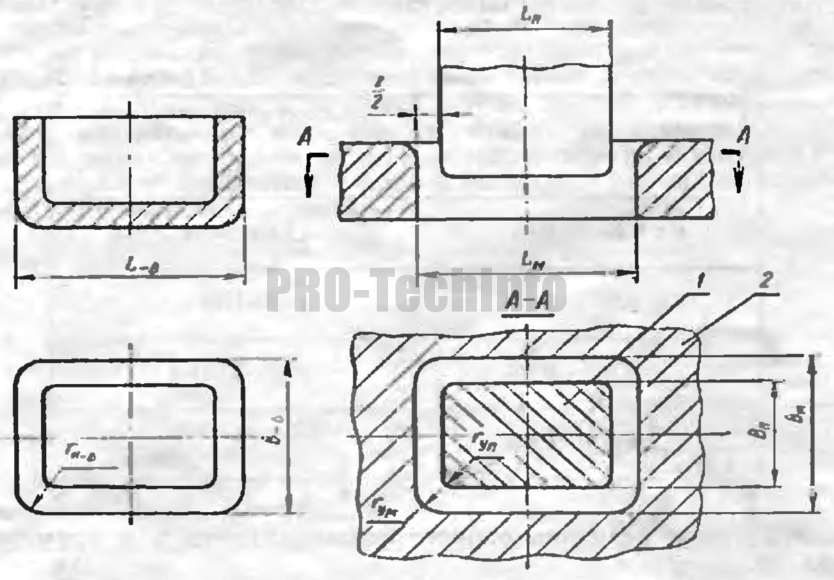 Расчет исполнительных размеров рабочих деталей вытяжных штампов