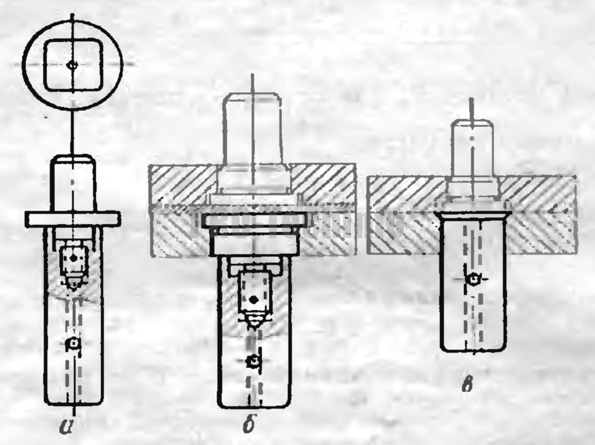 Конструирование вытяжных пуансонов