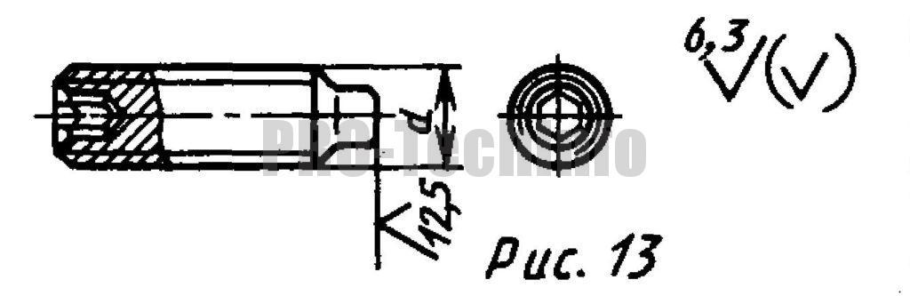 Винты установочные С цилиндрическим концом и шестигранным углублением под ключ классов точности А и В