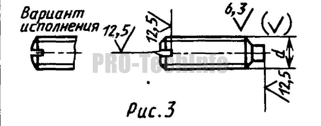 Винты установочные С цилиндрическим концом и прямым шлицем классов точности А и В