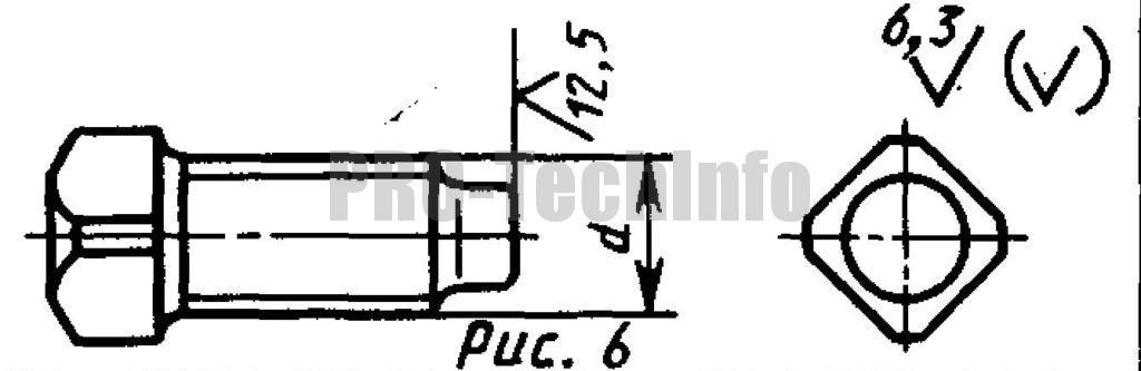 Винты установочные С квадратной головкой и цилиндрическим концом классов точности А и В