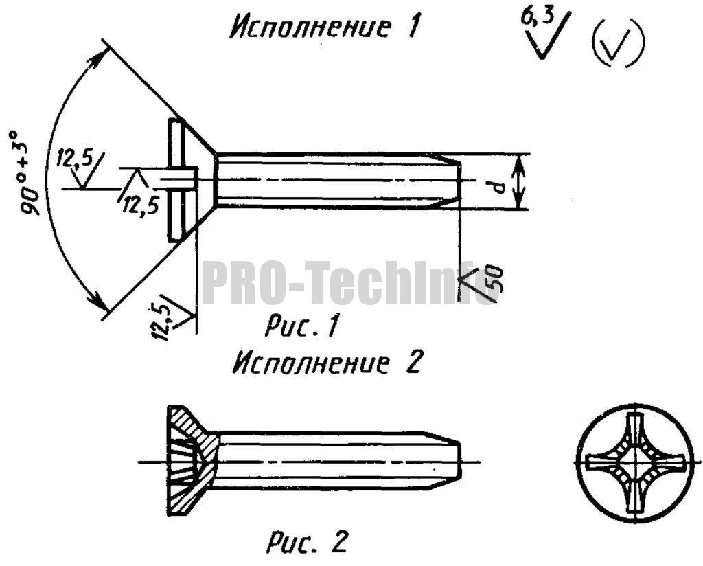Винты самонарезающие для металла и пластмасс