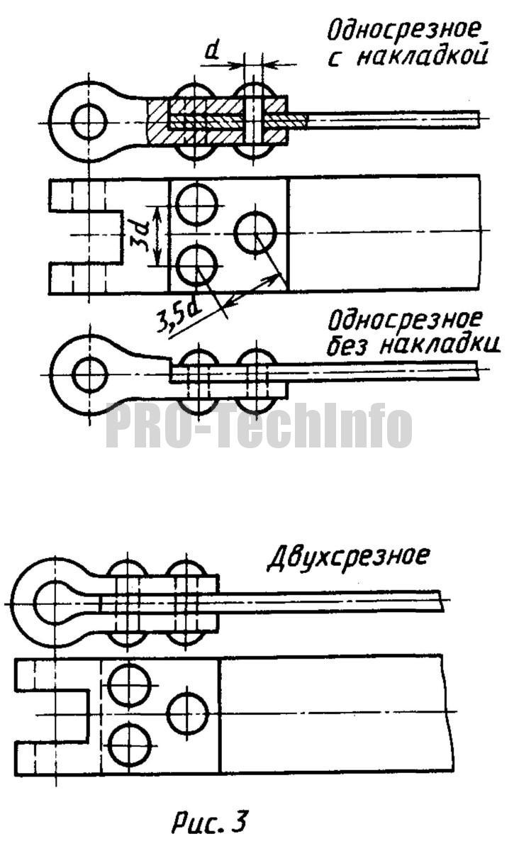 способы закрепления заклепками концов стальных тормозных лент