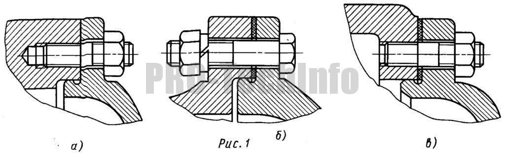 Фланцевое крепление корпусных деталей