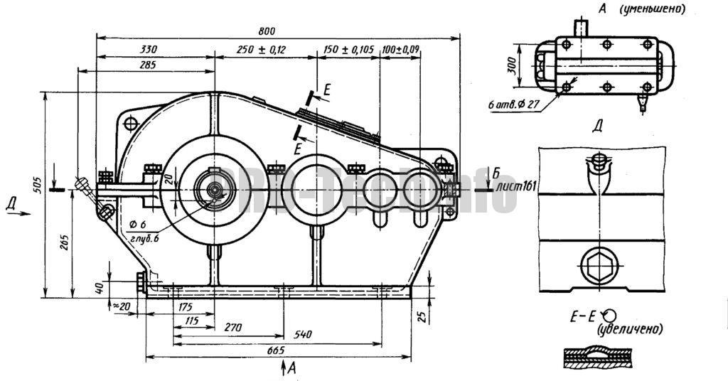 Редуктор РТЦ-500 общий вид