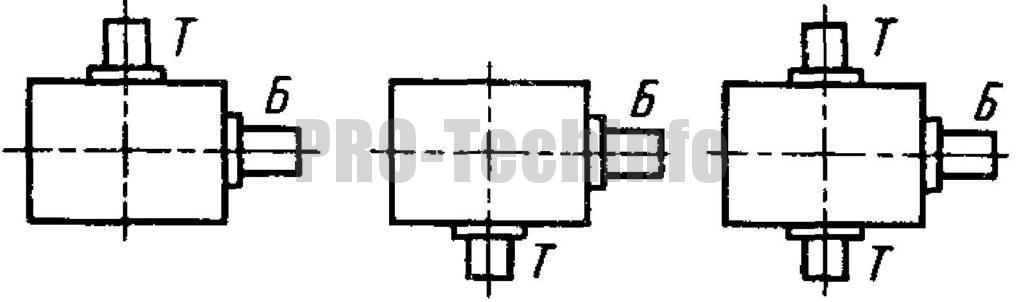 Схемы сборки редуктора червячного Ч-120