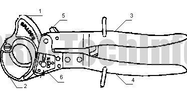 Ножницы J35 устройство
