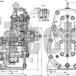 Редуктор ИШ-200 планетарно-шатунный чертеж