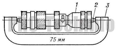 Настройка микрометрического нутромера НМ