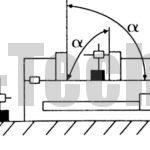 Перпендикулярность фиксированных губок продольной канавки