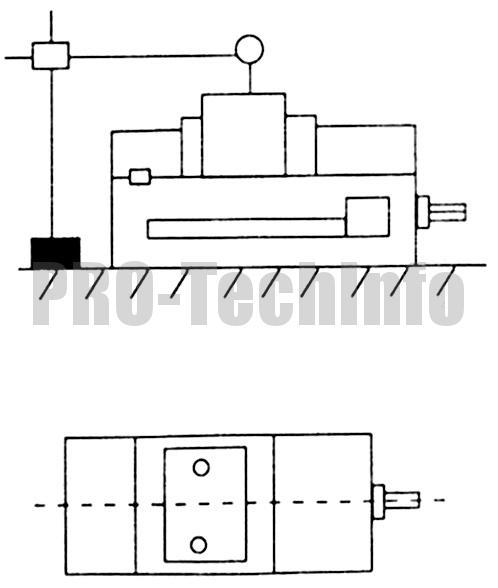 Подъем измерительного блока