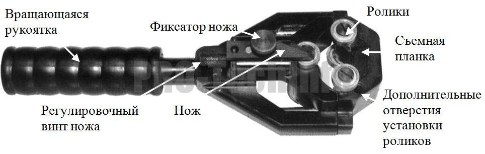 Приспособление ВХ 40 устройство