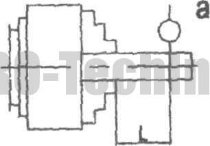 Токарный патрон с креплением за внешнюю поверхность заготовки с прямыми кулачками