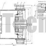Волновая передача Взп-100 чертеж