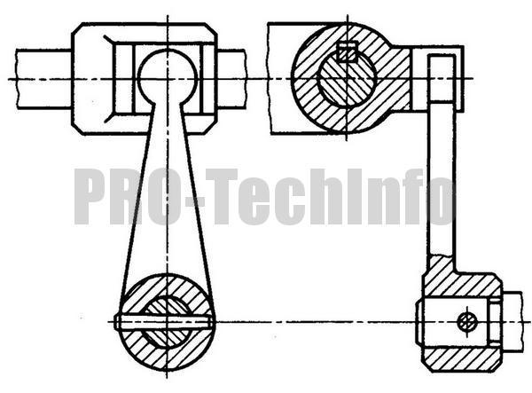 Приводы ползунов-вилок механизмовуправления