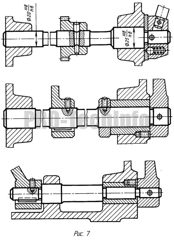 Рукоятки с фиксацией длинные оси рукояток управления