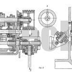 Механизм передвижения зубчатых колес с барабанным кулачком