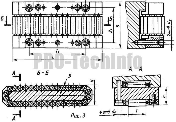 Роликовые опоры (типа танкеток) серии Р88