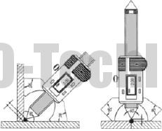 Штангентолщиномер электронный схемы измерения сварных швов