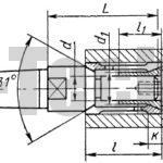 Оправки с двусторонней цангой
