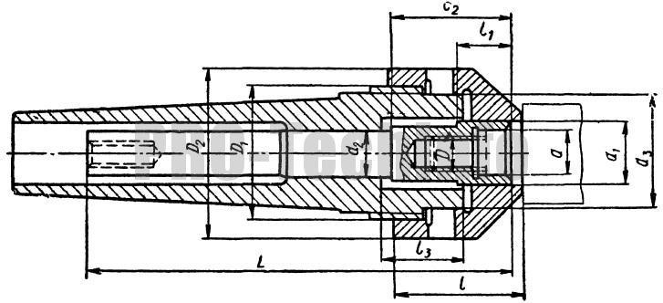 Оправки с центрированием заготовки по гладкой наружной поверхности