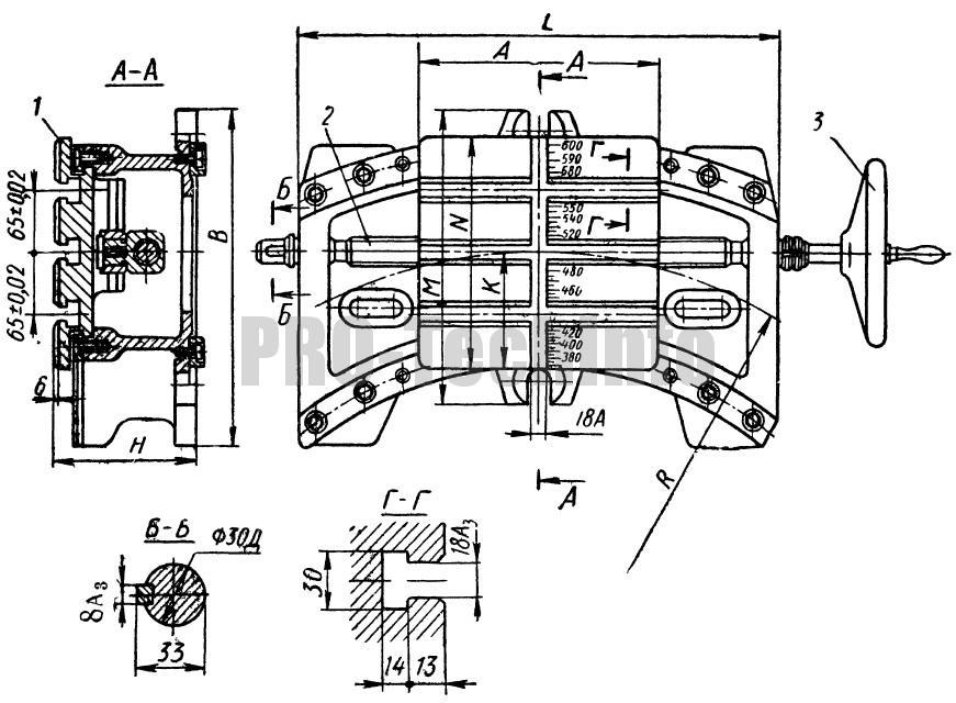 Стол для обработки по радиусу