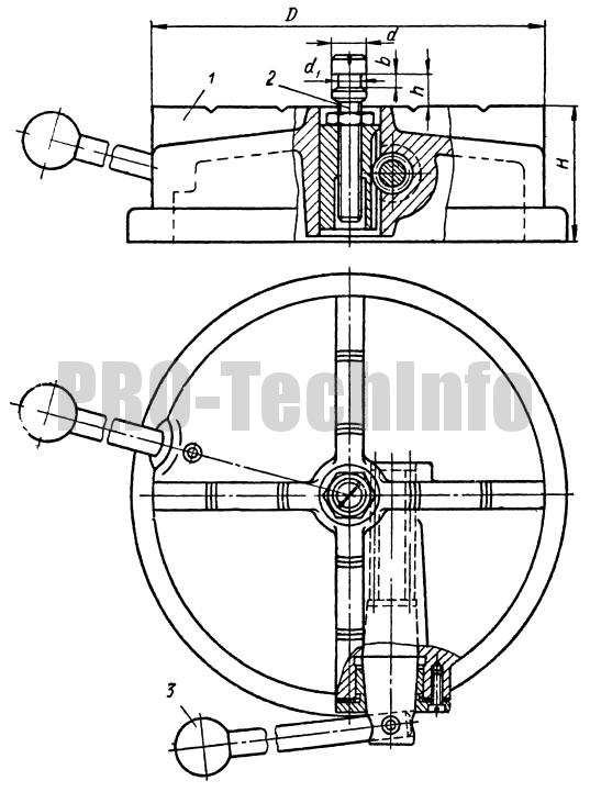 Подставки для накладного кондуктора с креплением от руки